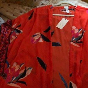 NWT a new day kimono